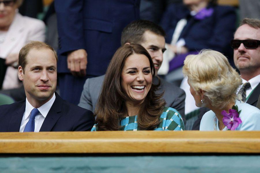 Week-end sportif pour Kate, William et Harry