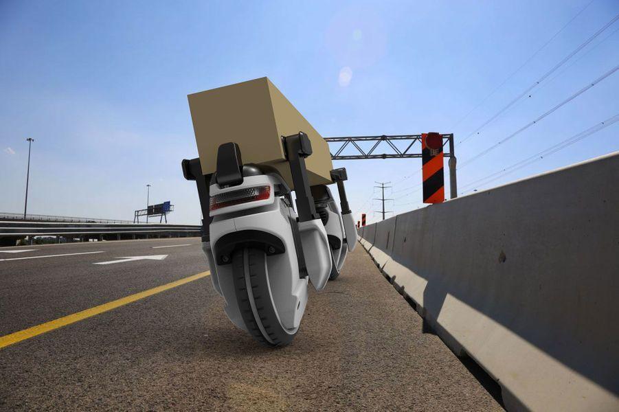 Le drone Transwheel