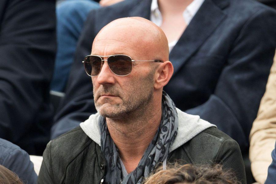 Fabien Barthez supporte Richard Gasquet à Roland-Garros