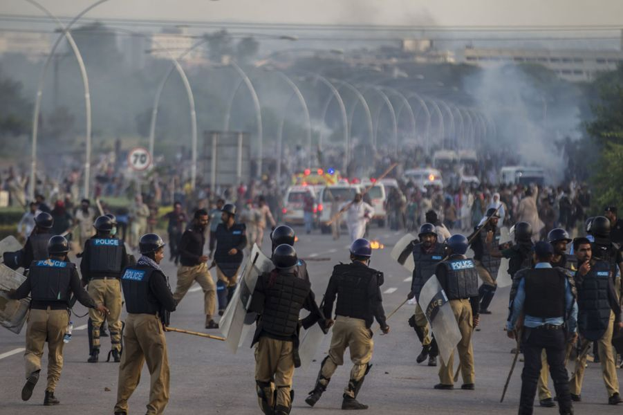 Manifestations à Islamabad le 1er septembre