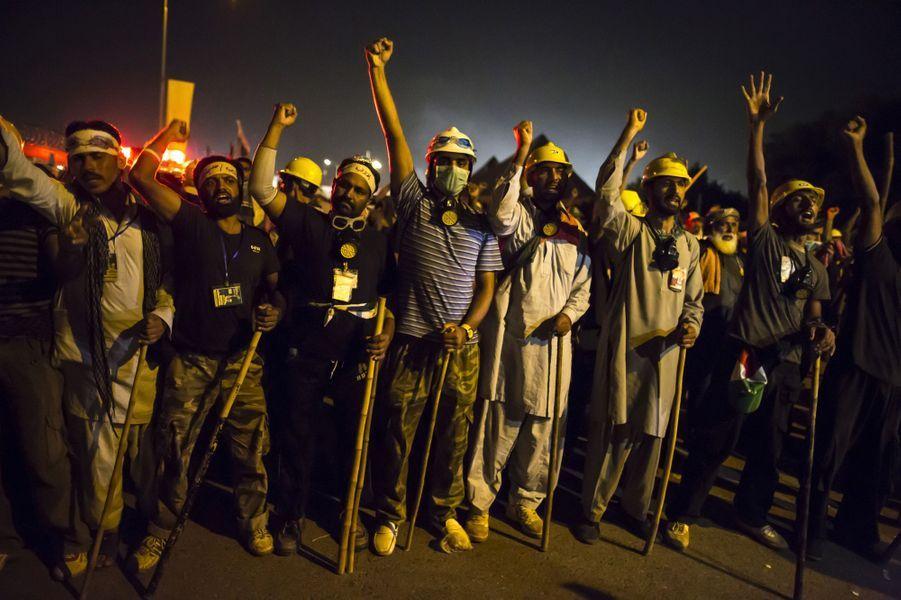 Manifestations à Islamabad le 29 août