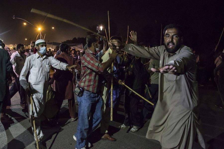 Manifestations à Islamabad le 30 août