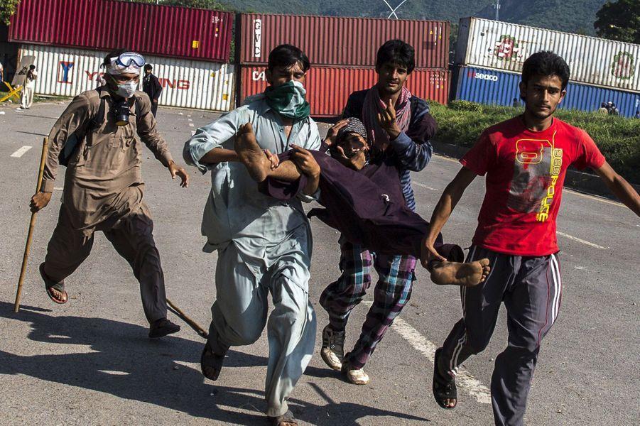 Manifestations à Islamabad le 31 août
