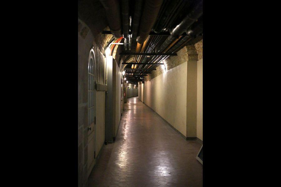 Dans les sous-sols du Grand Trianon