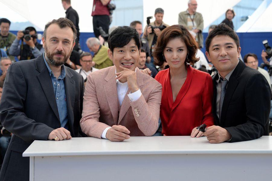 "L'équipe du film ""Pyo Jeok"""