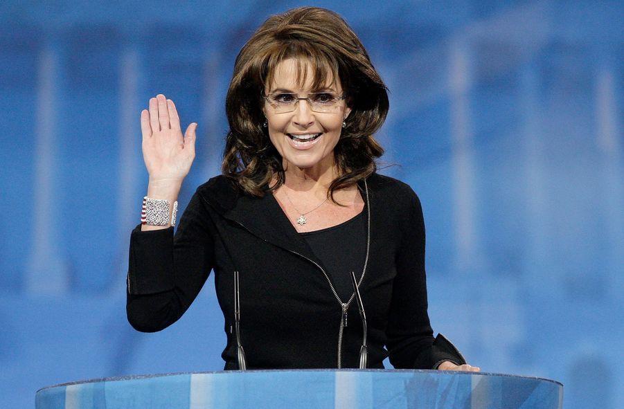 Sarah Palin, l'ex gouverneur de l'Alaska, à la Conservative Political Action Conference (CPAC), le 16 mars 2013.