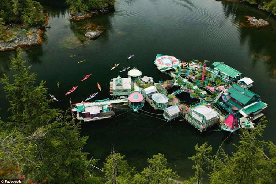 Freedom Cove, la maison écolo qui flotte