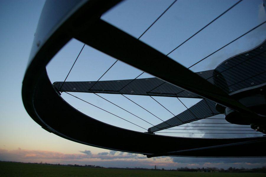 "La moto volante ""Hoverbike"" de Malloy Aeronautics"