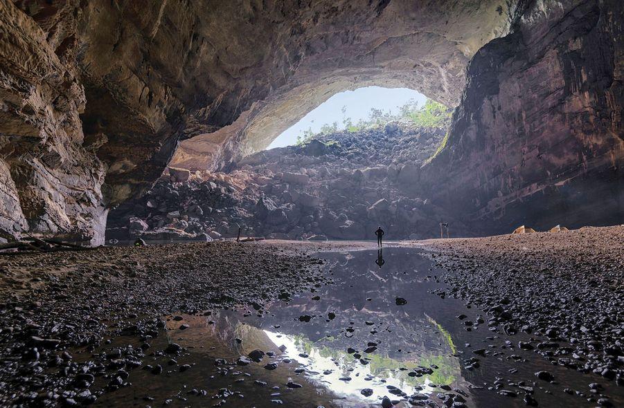 La caverne Hang En au Vietnam