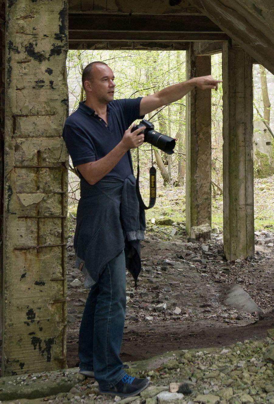 Le photographe Lars Krux