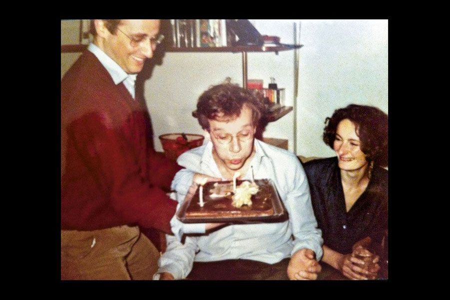 1984 : anniversaire de son ami Jean-Louis Audren
