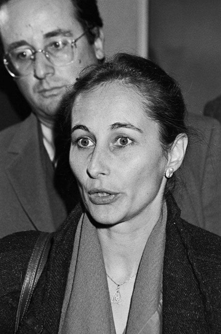 1990 : avec Ségolène Royal, elle aussi députée