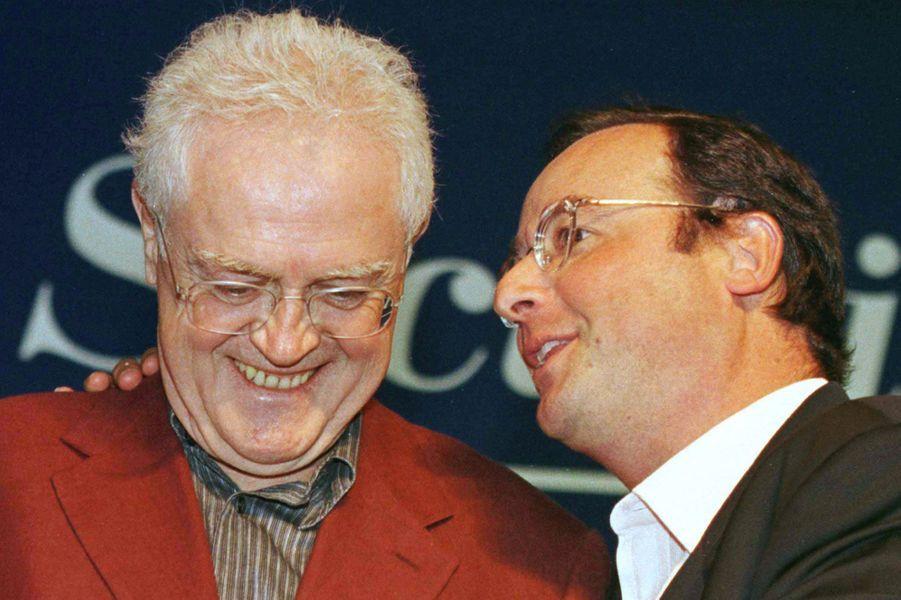 Avec Lionel Jospin, Premier ministre, en 1998