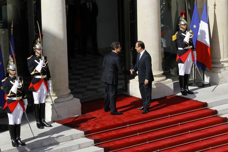 Passation de pouvoir, le 15 mai 2012