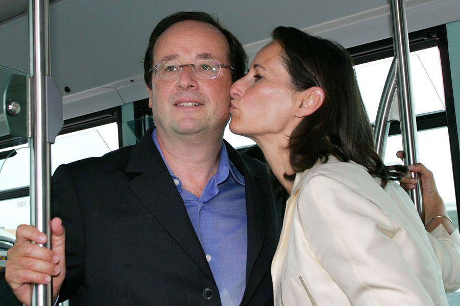 Ségolène et François, complices en août 2005