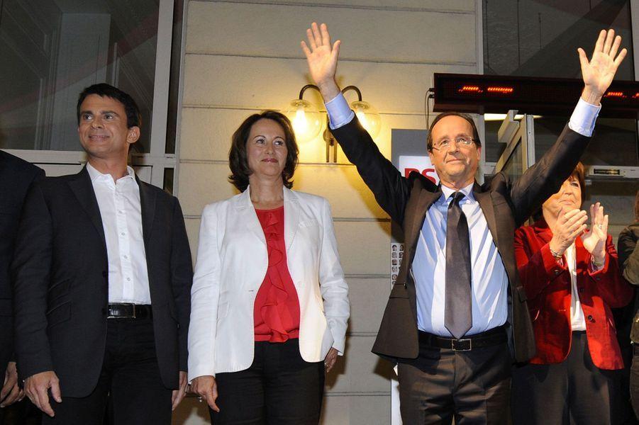 Soir de victoire : le 16 octobre 2011, la primaire socialiste