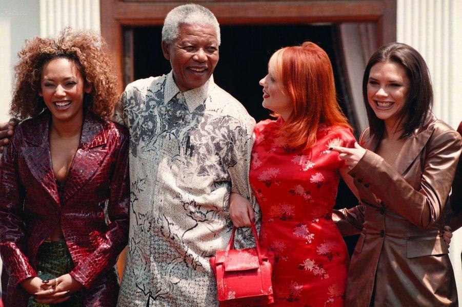 Avec Nelson Mandela