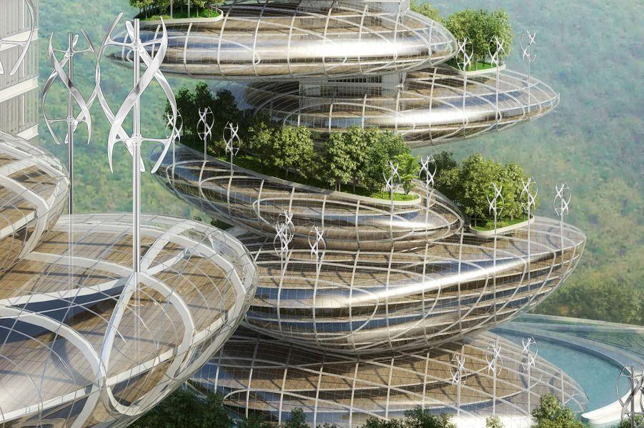 Le projet Asian Cairns se veut un modèle de smart city.