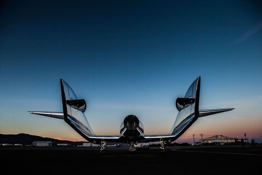 Virgin Galactic dévoile son nouveau vaisseau spatial