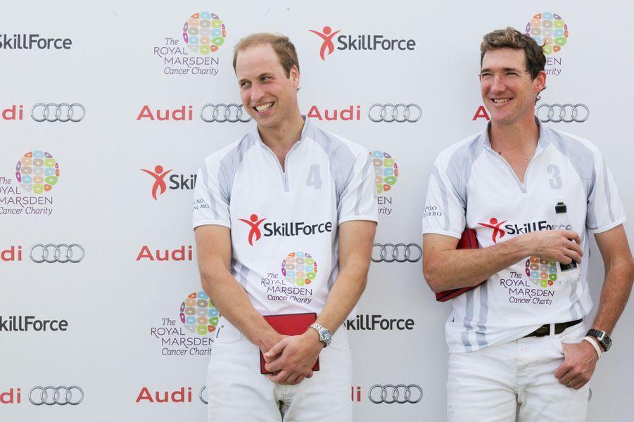 Avec son coéquipier Mark Tomlinson