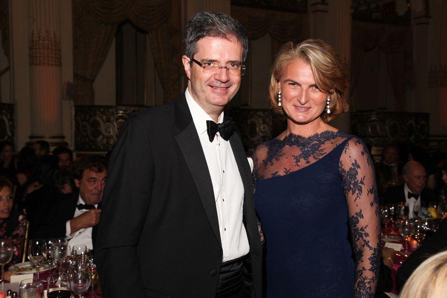 L'ambassadeur François Delattre, représentant permanent de la France à l'ONU, et Olivia Flatto.