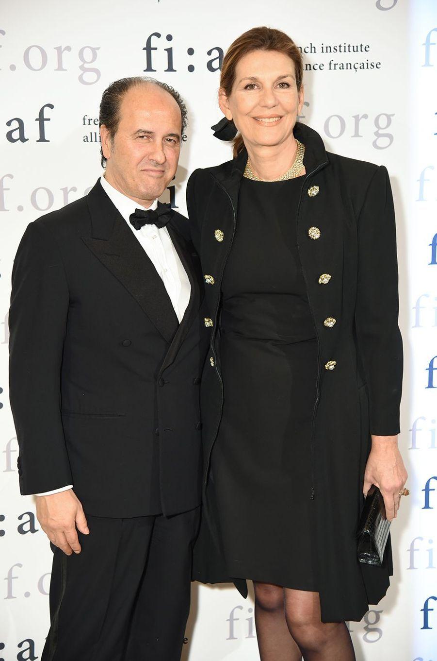 L'éditeur Prosper Assouline et son épouse Martine.