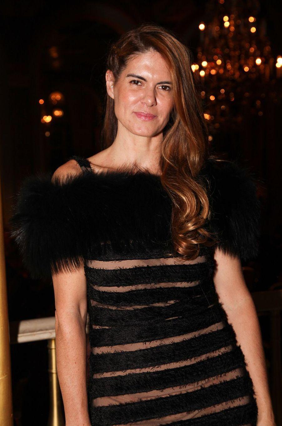La designer Anne Fontaine.