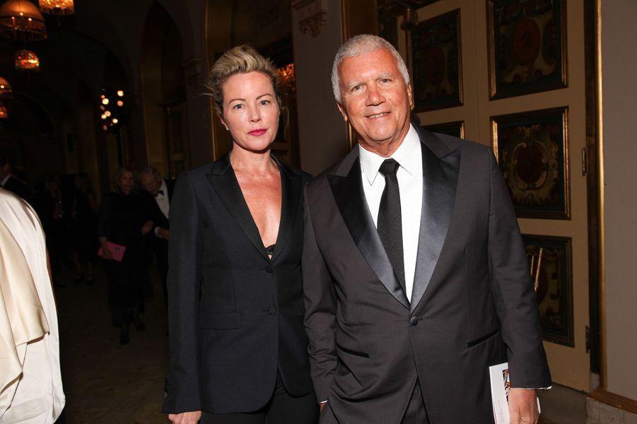 Larry Gagosian et sa femme Chrissie Erpf.
