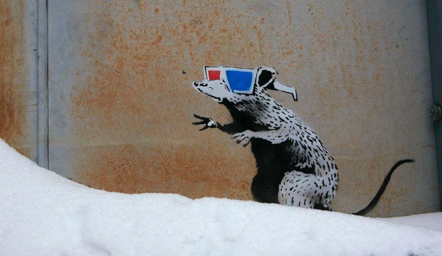 À l'occasion du Festival de Sundance dans l'Utah en 2010, Bansky se mannifeste pour soutenir son premier film «Faites le mur». L'artiste est très inspiré par les rats, qu'il semble souvent associer à la race humaine.