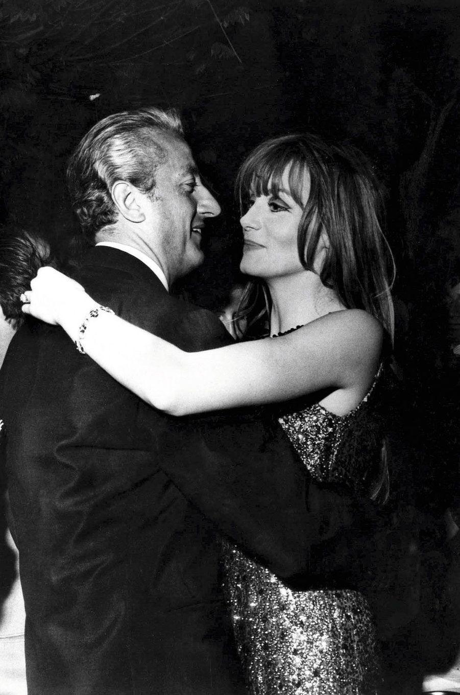 Festival de Cannes, mai 1965. Avec Françoise Dorléac.