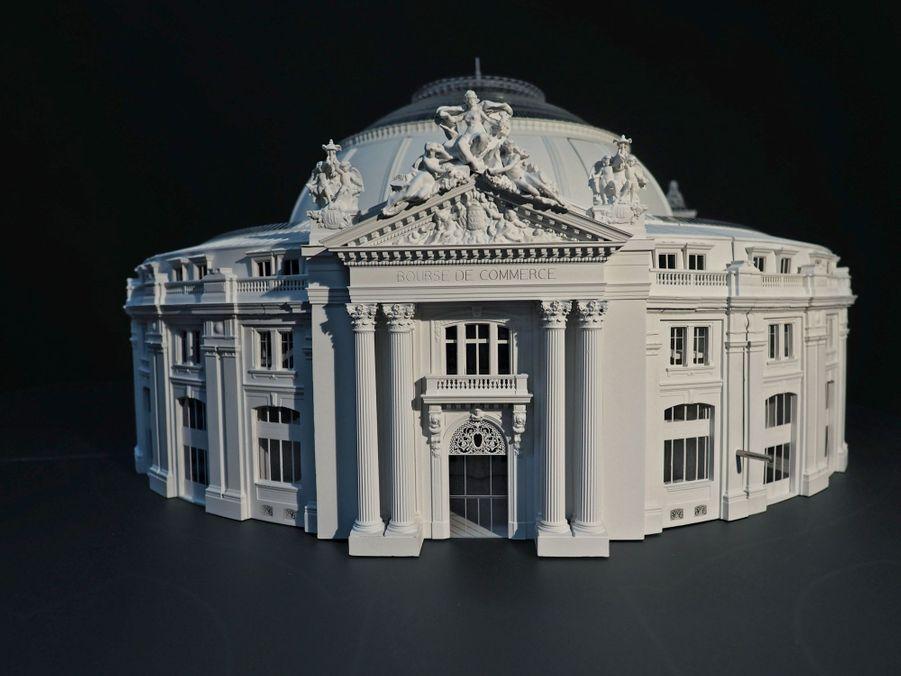 Maquette du projet architectural.