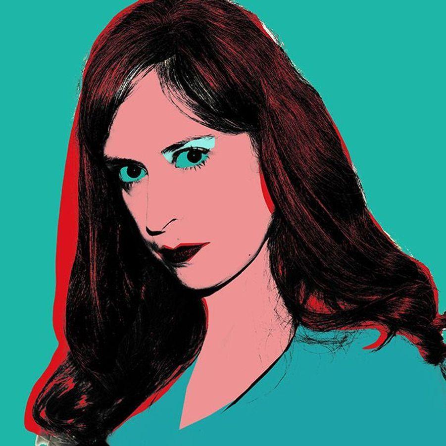 Une version confinée du tableau Scandinavian Beauty d'Andy Warhol