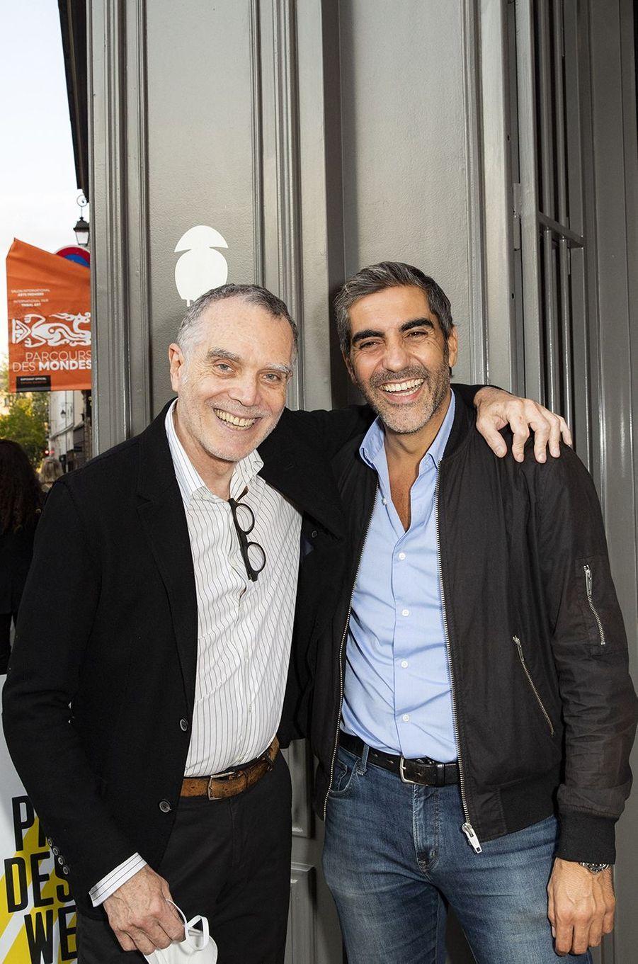 Daniel Bismut et Ary Abittan
