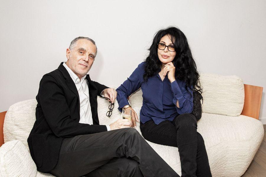 Michel Bismut et Yamina Benguigui