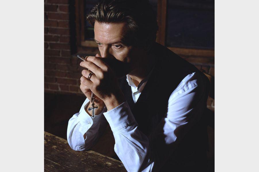 David Bowie, photographié en 2001 par Markus Klinko.