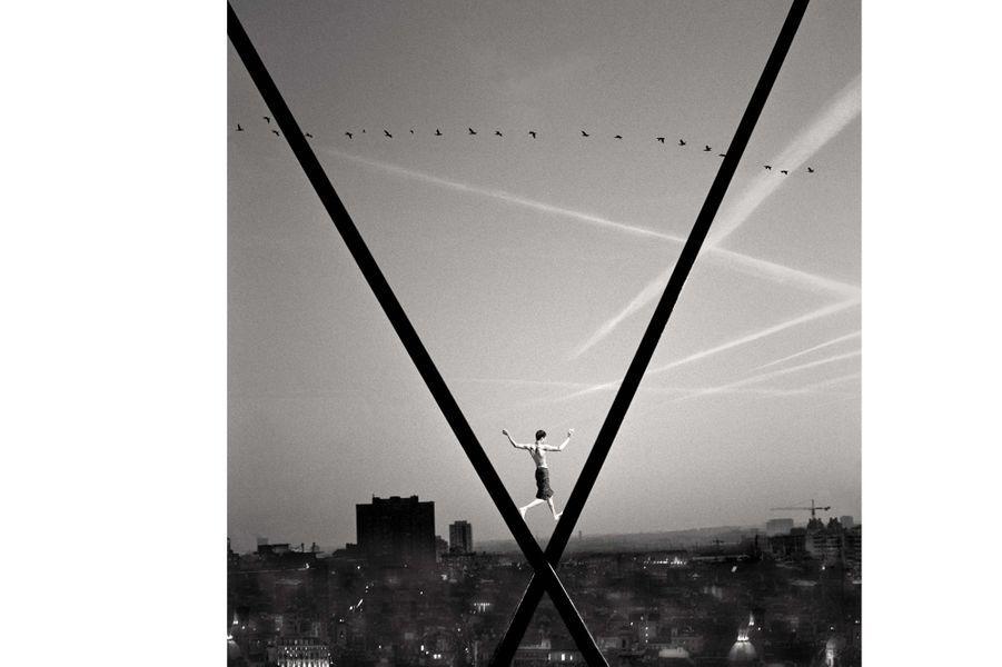Les oiseaux – Collection Eurazéo, Paris. ©Michael Kirch.Lauréat 2013 – «Traits d'union»