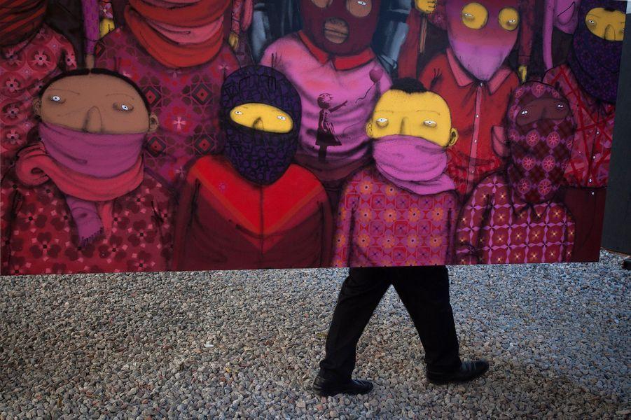 Banksy investit New York