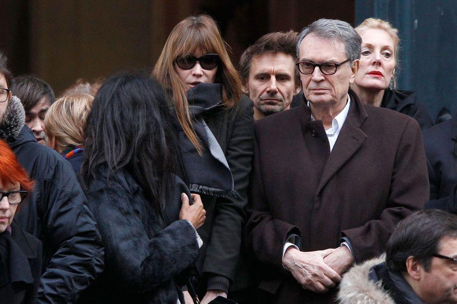 Karine Sylla et Carla Bruni-Sarkozy