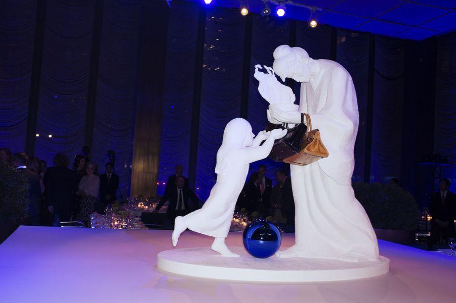 La soirée Jeff Koons, à New York
