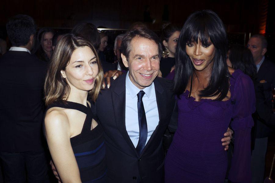 Sofia Coppola, Jeff Koons et Naomi Campbell