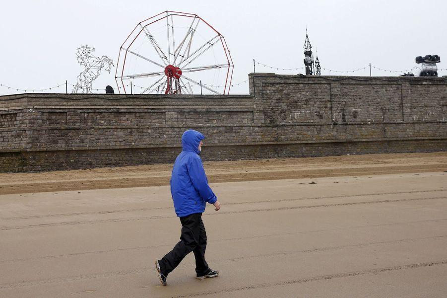 Dismaland, le parc d'attractions de Banksy à Weston-super-Mare