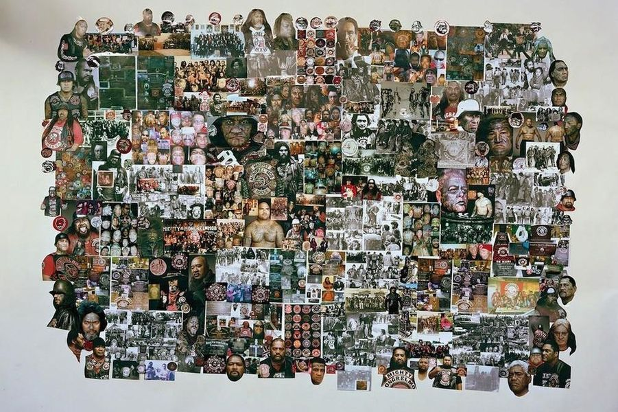 Denimz' Collage #3, 2014.