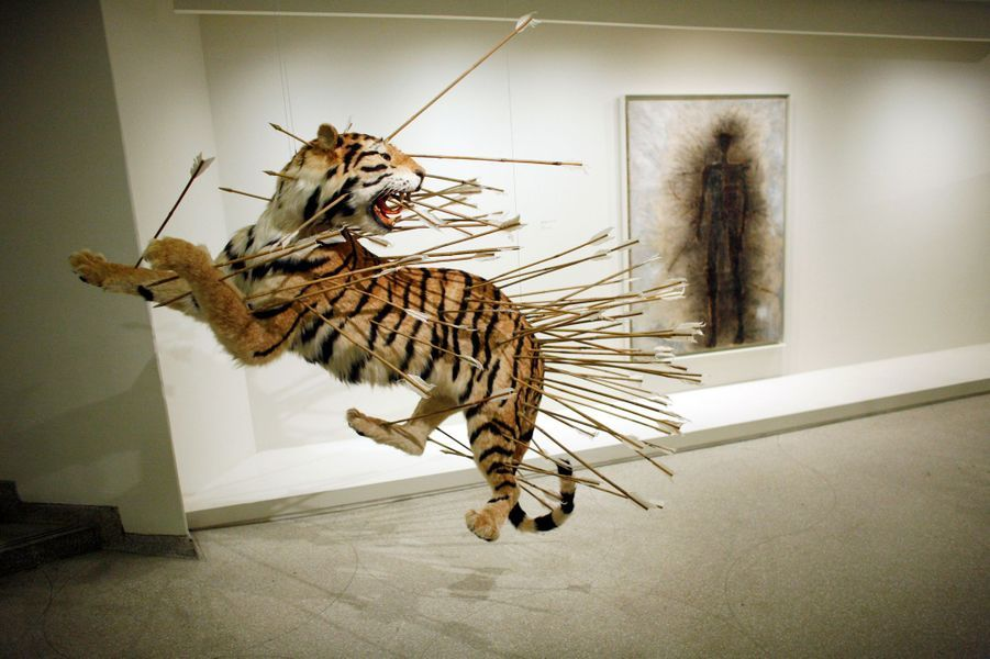 """""""Inopportune: Stage Two"""" de Cai Guo-Qiang"""