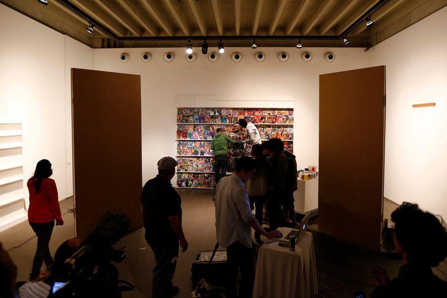 Phase 4: reproduire le décor comme ici dans un atelier à Caracas.