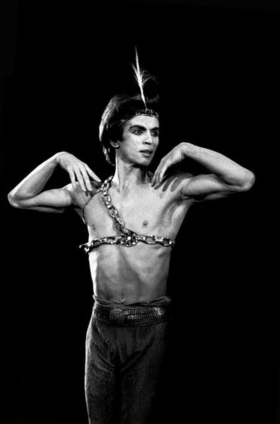 Rudolf Noureev dans Le Corsaire, 1978.