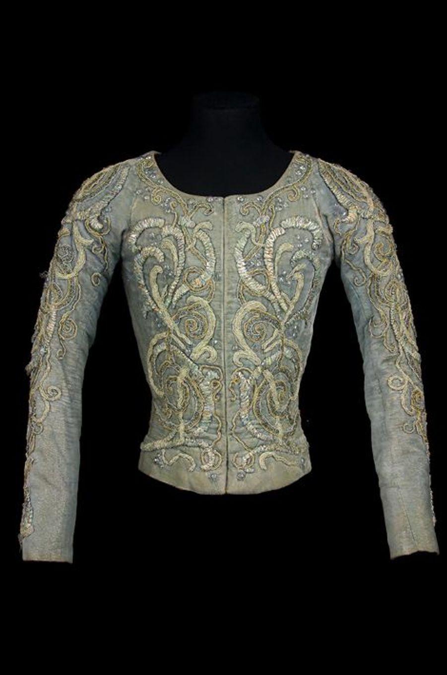 Pourpoint pour le rôle de Roméo, Acte IIe, Roméo et Juliette, 1977. Costume Ezio Frigerio.