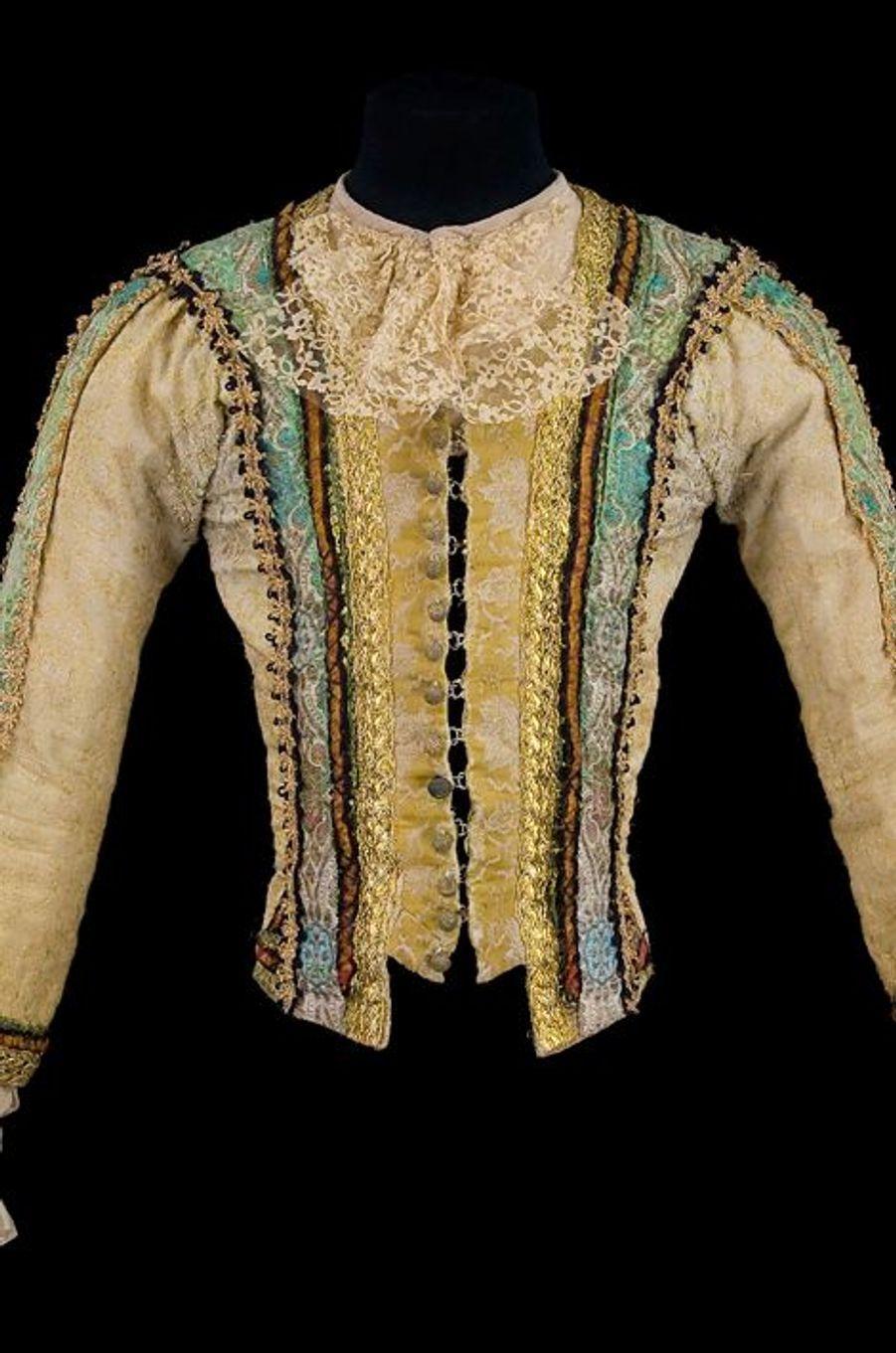 Pourpoint pour le rôle de Basilio dans Don Quichotte, 1979. Costume Nicholas Georgiadis.