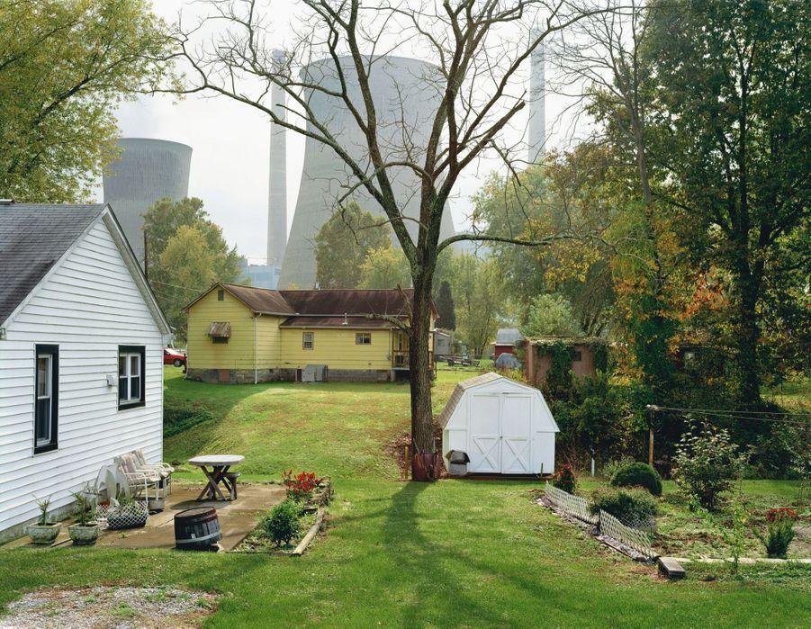MITCH EPSTEIN: AMERICAN POWER AMOS COAL POWER PLANT, RAYMOND, WEST VIRGINIA, 2004