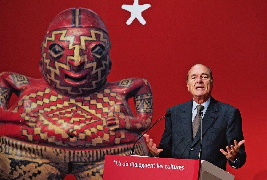Discours inaugural du musée du Quai-Branly, le 20 juin 2006.
