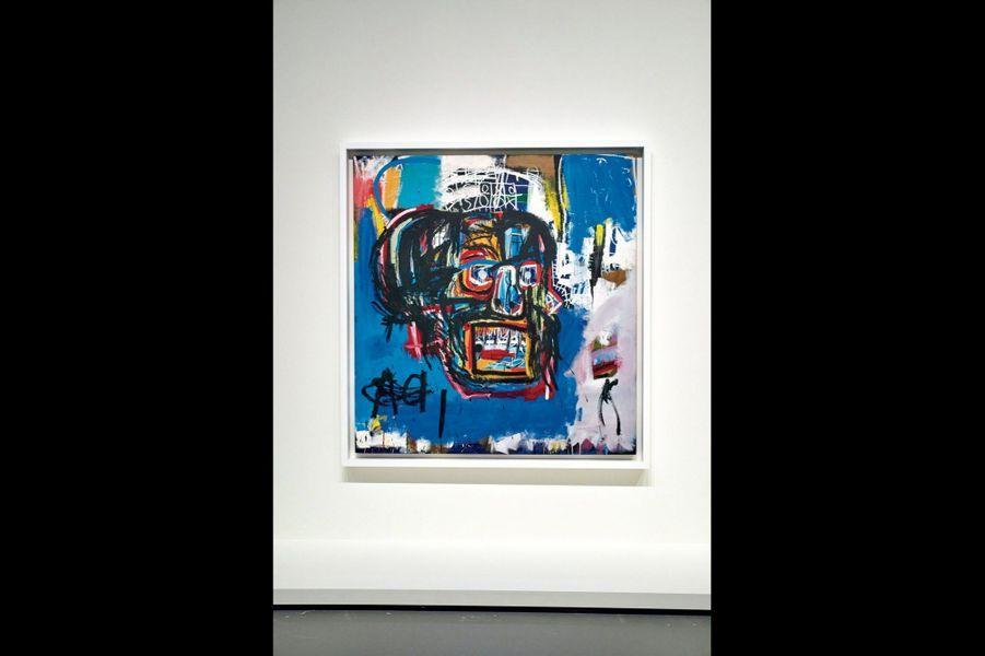 Record d'enchères pour ce tableau peint en 1982 et acheté 110,5 millions de dollars (96 millions d'euros) en 2017 chez Sotheby's par un collectionneur japonais.